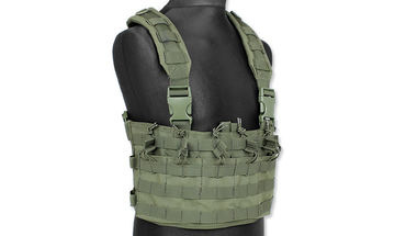 Rapid assault chest rig - oliivi