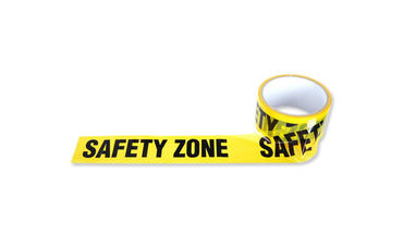"""SAFETY ZONE"" 48mm varoitusnauha, 30m"