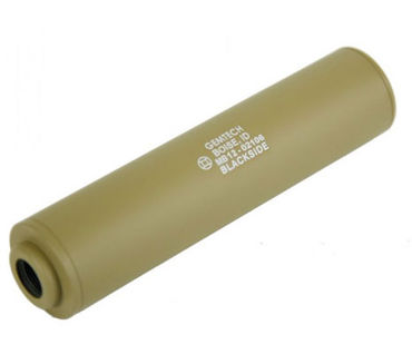 150 mm Gemtech BLACKSIDE Suppressor - 14mm CCW