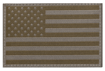 USA Flag patch, RAL7013